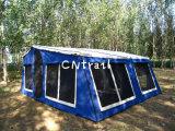 Polycottonの防水トレーラーのテントの倍の屋根