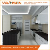 Armadi da cucina a forma di U modulari di legno della lacca di disegno moderno di Aisen