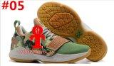 2017 de Nieuwe Pg1 Basketbalschoenen van Paul George van de Tennisschoenen van de Trainer van de Wreedheid van de Besnoeiing van het Gezoem van het Ivoor Lage Glanzende