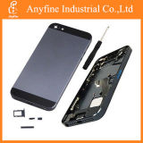 Complete preto Metal Housing Back Cover + MID Frame Assembly para o iPhone 5 de Apple