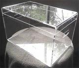 Caixa transparente feita sob encomenda do plexiglás