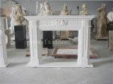 Cinzeladura de pedra/chaminé de mármore cinzelada do chaminé de /Stone/a de mármore