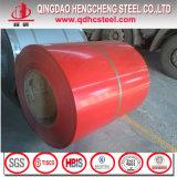 Bobine en acier enduite par couleur des matériaux PPGI de toit de la Chine