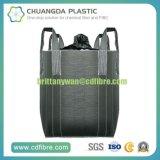 Grand sac enorme de conteneur tissé par pp avec le tissu résistant à l'humidité