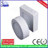 cuadrado montado 12W del LED abajo/luz de techo/lámpara