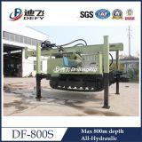 Plates-formes de forage pneumatiques de puits d'eau de Df-800s avec le compresseur d'air