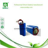 18650 paquete recargable de la batería del Li-ion de 2s1p 7.4V 2500mAh para las herramientas eléctricas