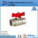 Verbundenes Messingkugelventil der Qualitäts-ISO228 schnell 3 Zoll für Wasser