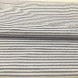 Tela teñida 100% de la raya del Seersucker del hilo de algodón para las camisas