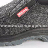 Zapatos administrativos RS8106 de los zapatos de seguridad del cocinero del Ninguno-Cordón del cuero partido
