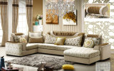 Muebles de la sala de estar de la promoción, sofá de la tela (2199)