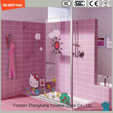Af:drukken/het Zuur van uitstekende kwaliteit van Silkscreen van de Verf van het Beeld van het Beeldverhaal van 319mm het Digitale etst het Aangemaakte Gehard glas van de Veiligheid Patroon voor Shower/Bathroom met SGCC/Ce&CCC&ISO