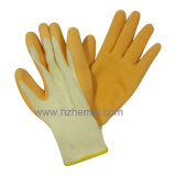 Перчатки Китай Worklatex безопасности перчаток ладони латекса раковины T/C Coated