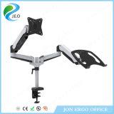 Inclinaison réglable d'accessoires informatiques de Jeo Ys-Ga24u-D et bras duel de moniteur d'émerillon