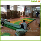 Drapeau extérieur fait sur commande d'impression de vinyle de câble de PVC (TJ-04)