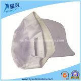 Casquettes de baseball de sublimation de Polyster (blanc)