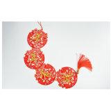 Colgantes de la decoración del papel del festival del Año Nuevo de la ornamentación String-5