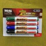 crayon lecteur de borne de la téléconférence 4PCS, jeu sec de crayon lecteur de borne de gomme à effacer