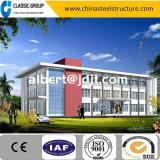 Precio fácil del edificio de oficinas de la estructura de acero de la asamblea de 2 suelos