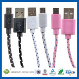 2m 6ft Flat Data Sync Charging Micro USB Cable