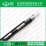 Cable coaxial de Belden del cable coaxial del mensajero del Tri-Shield de RG6 (F660TSVM)