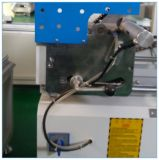Le découpage de tête de double de machine de porte de guichet de PVC de l'aluminium UPVC a vu