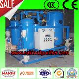 Matériel de filtration de pétrole de machine de purification de pétrole de turbine de perte de garantie de qualité