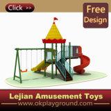 TUV Date concurrentiel enfants plastique en plein air Aire de jeux (X1228-2)