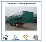 De la estaca doble del suelo del carro acoplado utilitario plano semi de la fabricación de China