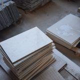 Бежевая мраморный плитка, мраморный граница настила конструирует плитку