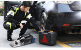 4 in 1 Stofzuiger van de Auto van de Functie met de Meting van de Maat van de Druk van de Band van de Verlichting van de Compressor van de Lucht