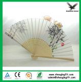Het huwelijk keurt Document goed dat de Ventilator van Helf van de Hand met de Rib van het Bamboe vouwt