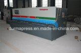 E21s 관제사를 가진 Durmapress QC12y-6*3200 유압 깎는 기계, CNC 단면도 절단기, 철책 절단기