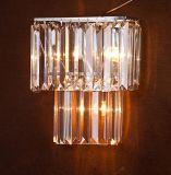 Lampe de mur en cristal moderne
