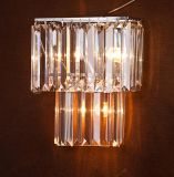 Moderne Kristallwand-Lampe