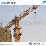 8t Eingabe, 60m Hochkonjunktur-Längen-Turmkran für Aufbau