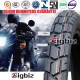 Alto neumático contento de goma de la motocicleta (4.10-18)