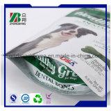 Levantarse el bolso del alimento de animal doméstico