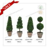 인공적인 장식 정원 공 나무 나선형 나무 다른 작풍 인공적인 장식 정원의 모든 종류