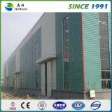 Gruppo di lavoro prefabbricato della costruzione chiara della struttura d'acciaio con esperienza ricca