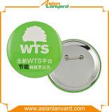 Anunció la divisa del botón del metal con insignia impresa