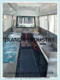 Bequemer mobiler elektrischer Stahl-Lebesmittelanschaffung-LKW
