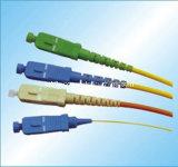 Cordon de connexion optique de fibre de SM Sx de LSZH Sc/APC-Sc/APC 3.0mm 6m 9/125um G652