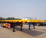 Beste Kwaliteit Cimc de Gloednieuwe 40FT Vrachtwagen van de Aanhangwagen van de Container van het Bed van de Aanhangwagen van de Container Semi Vlakke Semi