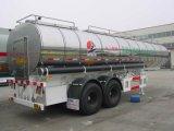 petroleiro isolado Stee inoxidável do asfalto 35000L