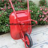 良質のステンレス鋼の皿の一輪車(Wb6201)