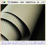 envoltório do vinil da fibra da película/carbono da fibra do carbono de 1.52*30m para a decoração do carro