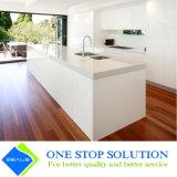 Armadio da cucina bianco di rivestimento della lacca di lucentezza di modo alto Furniturn