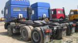 Shacman 10 het Hoofd van de Vrachtwagen van de Tractor van het Wiel 6X4