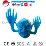 子供の昇進のための恐いヘッド指のパペットプラスチックおもちゃ